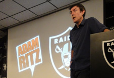 Adam Speaking to the Raiders