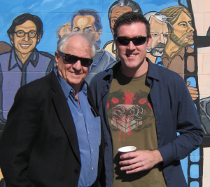 Adam with Hollywood Director Garry Marshall