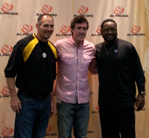 Adam Ritz Jeff Hartingsand Coach Mike Tomlin