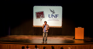 Adam Ritz live at the University of North Florida