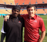 Kip Vickers at Sun Life Stadium in Miami, FL