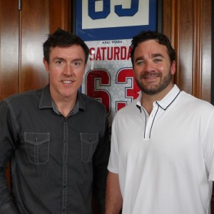 Adam Ritz and Jeff Saturday
