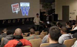 Adam in Seattle at the University of Washington