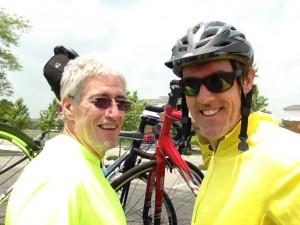 Jay Baker and Adam Ritz after a 30 miler