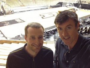 Elliot Bloom, Director of Basketball Operations at Purdue University