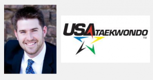 Kevin Loughery with USA Taekwondo