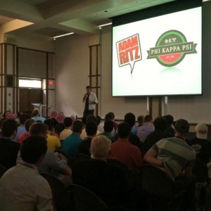 The Adam Ritz Show at the Phi Kappa Psi national convention