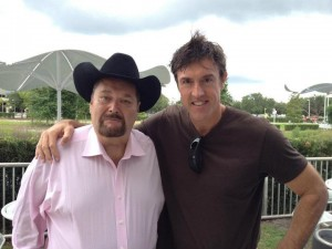 WWE legend Jim Ross with Adam Ritz