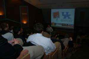 The Adam Ritz Show at the University of Kentucky