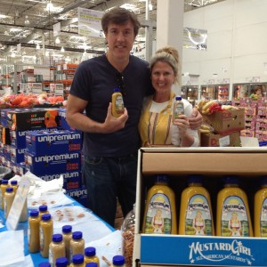 Mustard Girl Jennifer Connor with Adam Ritz