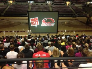 The Adam Ritz Show at Southern Illinois University