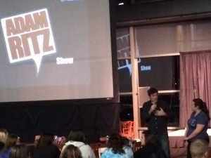 The Adam Ritz Show at the University of Wisconsin Platteville