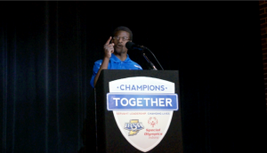 Special Olympics Global Messenger, Andrew Peterson