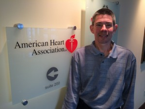 Tim Harms from the American Heart Association