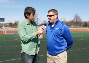 Adam Ritz interviews Tom Coons, former Nazareth College Lacrosse player and Carmel head lacrosse coach