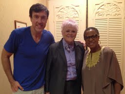 Adam with Bishop Bonnie Radden and Bishop Yvette Flunder from The Fellowship of Affirming Ministries