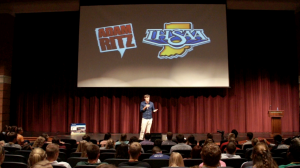 The Adam Ritz Show at the IHSAA Student Leadership Conference