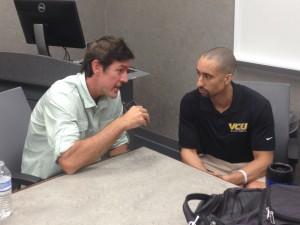 Adam Ritz interviews Shaka Smart, VCU head men's basketball coach