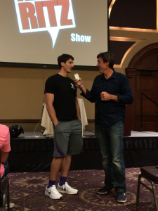 K-State basketball player Brian Rohleder on The Adam Ritz Show