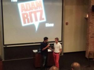 Parker Lawson on The Adam Ritz Show
