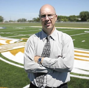 Central Methodist University athletic director Brian Spielbauer