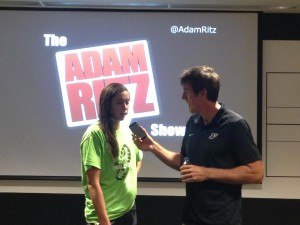 Purdue Volleyball Valerie Nichol on The Adam Ritz Show