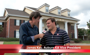 The Adam Ritz Show at the Kappa Alpha chapter at Auburn University