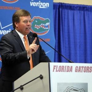 Florida Gators head football coach Jim McElwain