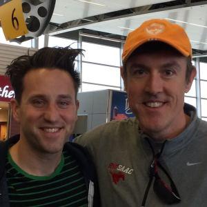 Josh Sundquist with Adam Ritz