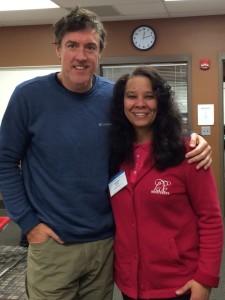 Adam with Kimberly Ewing of KDE Motivates