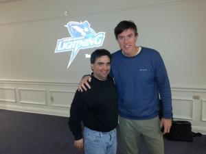 Derek Crudele with Adam Ritz
