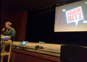 Adam Speaking at Twin Lakes about Social Media