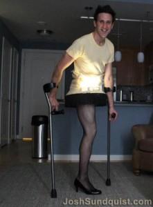 Paralympian Josh Sundquist