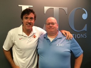 Adam Ritz with Martin George from LTC Language Solutions