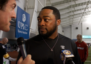 Adam Ritz interviews Steelers head coach Mike Tomlin