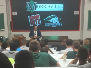 Adam Ritz at Morrisville State College