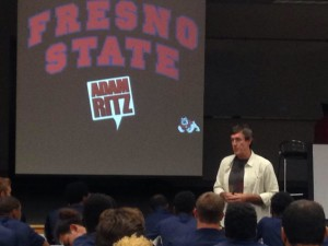 The Adam Ritz Show at Fresno State University