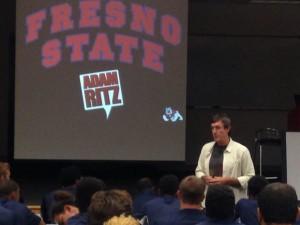 The Adam Ritz Show at Fresno State University